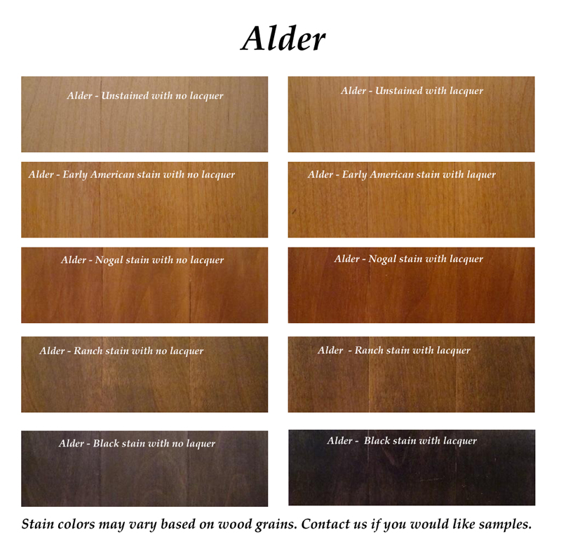 Clear Alder Interior Doors